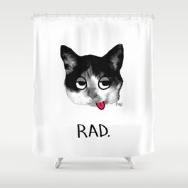 RAD. Shower Curtain