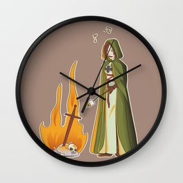 Seek Marshmallows Wall Clock