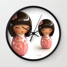 Kokeshi 06 Wall Clock