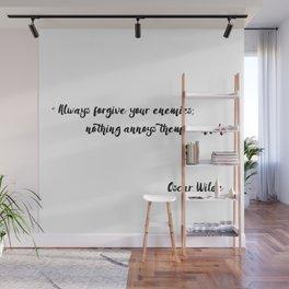 Oscar Wilde - Quotes Wall Mural