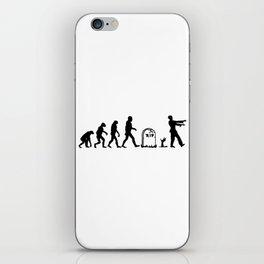 Zombie Evolution iPhone Skin