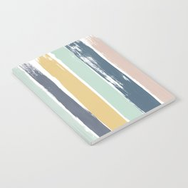 Pastel Stripes Notebook