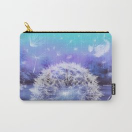 Make a Wish - Blue Carry-All Pouch