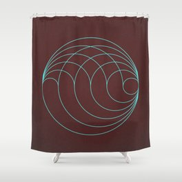 Aqua Orb Shower Curtain
