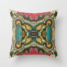 Bandana Print Throw Pillow