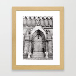 The Doors are but One Way In Framed Art Print