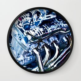 Vrooom! Wall Clock