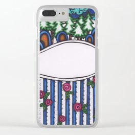 rosie hill Clear iPhone Case
