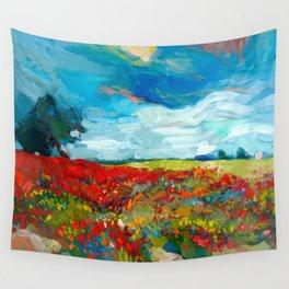 Flower fields Wall Tapestry