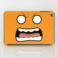 scary iPad Cases featuring Scary Face by Tombst0ne
