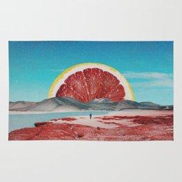 Grapefruit Beach Rug