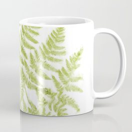 Fresh Fern Modern Botanical Coffee Mug