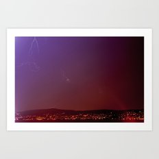 Soothing Storm Art Print