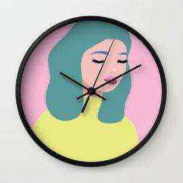 Bed-head Bettie Wall Clock