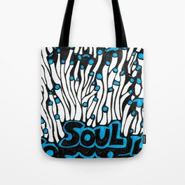 Blue Soul Tote Bag