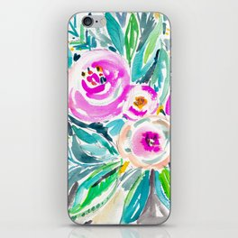 Pink Abundance Floral iPhone Skin