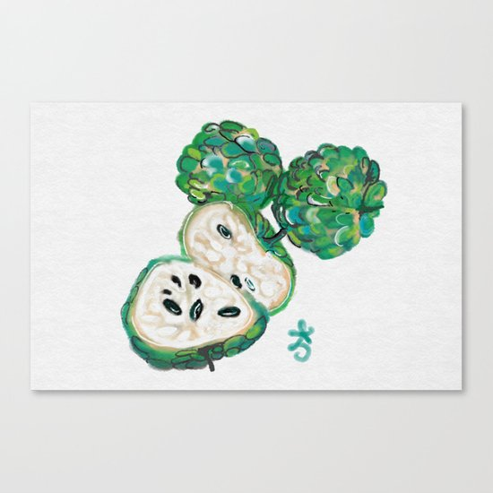Sweet Sop Sugar Spring Canvas Print