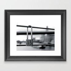 Love Locks 2012 07 Framed Art Print