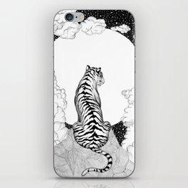 Tiger Moon iPhone Skin