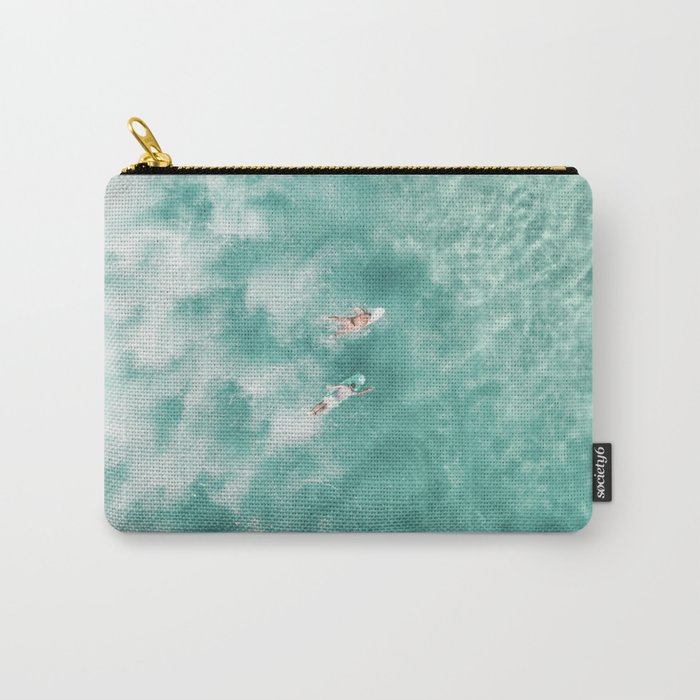 Surfing in the Ocean Carry-All Pouch