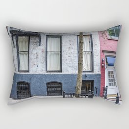 Old Greenwich Village apartment Rectangular Pillow