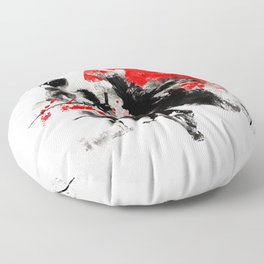 Samurai Duel Floor Pillow