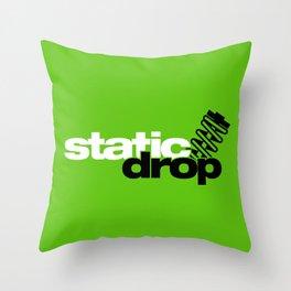 Static drop v7 HQvector Throw Pillow