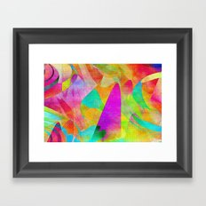 Abstract 2017 007 Framed Art Print