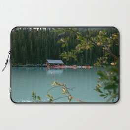 Lake Louise Lodge Laptop Sleeve