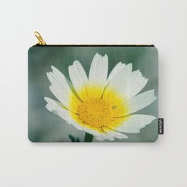 White Spring Carry-All Pouch
