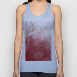 Cranberry Spotted Unisex Tank Top