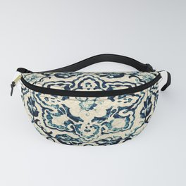 Azulejo II - Portuguese hand painted tiles Fanny Pack