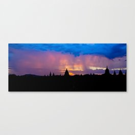 Sunset in Bagan, Myanmar Canvas Print