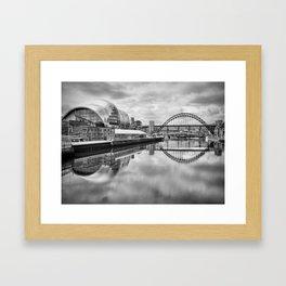 Tyne Bridge Framed Art Print