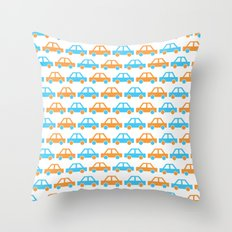 The Essential Patterns of Childhood - Car Throw Pillow