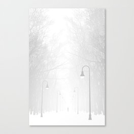Somerville Bike Path Canvas Print