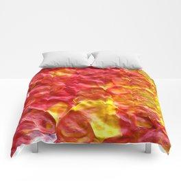 Fire Spiral Comforters
