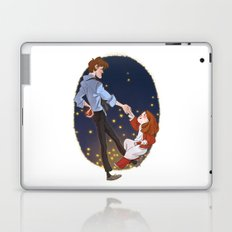 Little Amelia and her Raggedy man. Laptop & iPad Skin