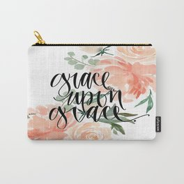grace upon grace Carry-All Pouch