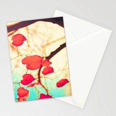 Hearts Over Gold Stationery Cards