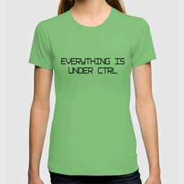 Funny Software Engineer CTRL T-shirt