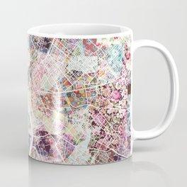 Budapest map Coffee Mug