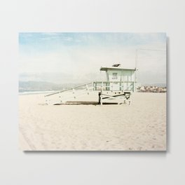 Venice Beach Tower Metal Print