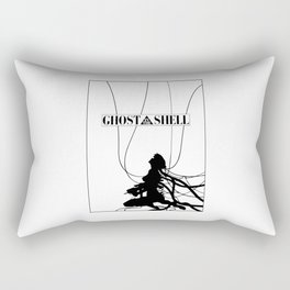 Ghost In The Shell (w/ Frame) Rectangular Pillow