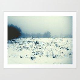 Snow Daze Art Print