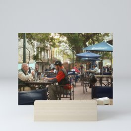 Hanging out in San Telmo, Buenos Aires Mini Art Print