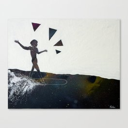 Aware Moment Canvas Print