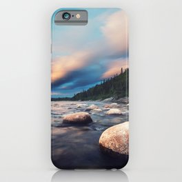 La Poile Sunset iPhone Case