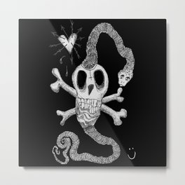 Dead & Lovely Metal Print