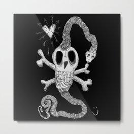 Dead & Lovely Metal Print